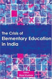 The Crisis of Elementary Education in India PDF