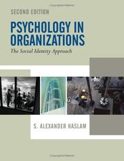 Psychology in Organizations by S. Alexander Haslam