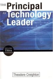 The principal as technology leader PDF