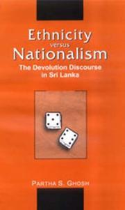 Ethnicity versus Nationalism PDF