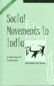 Social Movements in India by Ghanshyam Shah