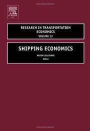 Shipping Economics (Research in Transportation Economics) (Research in Transportation Economics) PDF