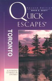 QUICK ESCAPES TORONTO, 2nd Edition (Quick Escapes) PDF