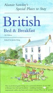 Special Places to Stay British Bed & Breakfast PDF