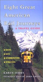 Eight great American rail journeys PDF