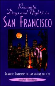 Romantic days and nights in San Francisco by Donna Peck