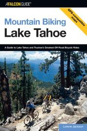 Mountain biking Lake Tahoe by Lorene Jackson