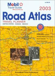 Mobil 2003 Road Atlas and Travel Planner by Mobil Travel Guide