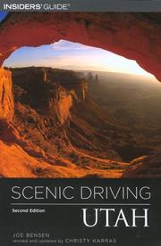 Scenic driving Utah by Joe Bensen