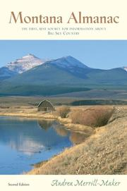 Montana almanac by Andrea Merrill-Maker