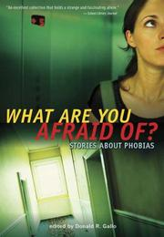 What Are You Afraid Of? PDF