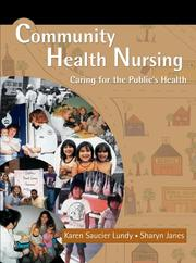 Community health nursing by Karen Saucier Lundy
