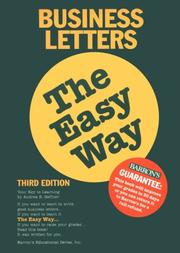 Business letters the easy way PDF