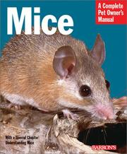 Mice (Complete Pet Owner's Manuals) PDF