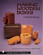 Making Wooden Boxes With Dale Power PDF