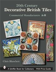20th Century Decorative British Tiles by Chris Blanchett