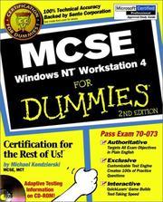 MCSE Windows NT workstation 4 for dummies