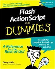 Flash ActionScript for Dummies PDF