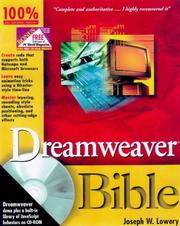 Dreamweaver bible by Joseph Lowery