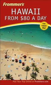 Frommer's Hawaii from $80 a Day PDF