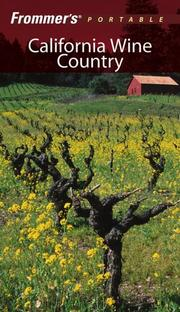 Frommer's Portable California Wine Country by Erika Lenkert
