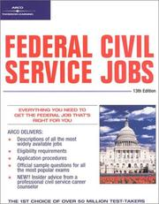 Federal civil service jobs by Hy Hammer