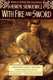 Cover of: With fire and sword by Henryk Sienkiewicz