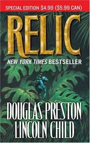 Cover of: Relic by Douglas J. Preston, Lincoln Child