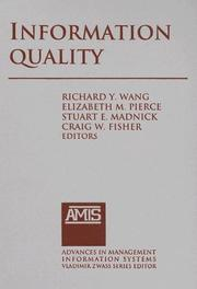 Information Quality (Advances in Management Information Systems) PDF