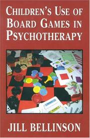 Children's Use of Board Games in Psychotherapy PDF