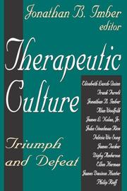 Therapeutic Culture PDF