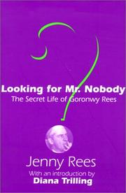 Looking for Mr. Nobody by Jenny Rees