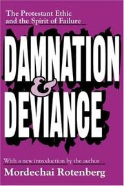 Damnation and deviance by Mordechai Rotenberg