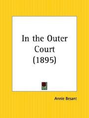 In the outer court by Annie Wood Besant
