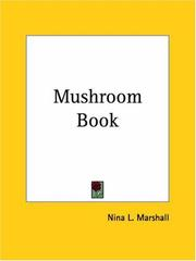 The mushroom book by Nina L. Marshall