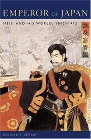Emperor of Japan by Donald Keene