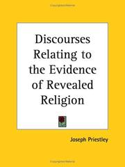 Discourses Relating to the Evidence of Revealed Religion PDF