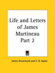 Life and Letters of James Martineau, Part 2