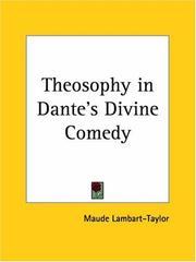 Theosophy in Dante's Divine Comedy PDF