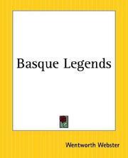 Basque legends by Wentworth Webster