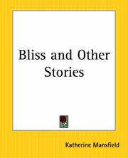 Bliss, and other stories PDF