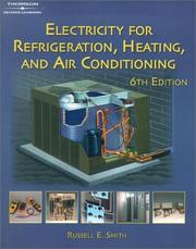 Electricity for refrigeration, heating, and air conditioning PDF