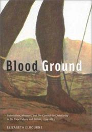 Blood ground by Elizabeth Elbourne