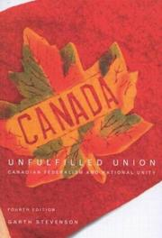 Unfulfilled union by Garth Stevenson