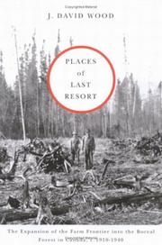 Places of Last Resort by J. David Wood