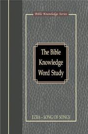 Bible Knowledge Word Study