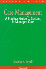Case management by Suzanne K. Powell