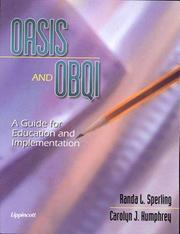 OASIS and OBQI by Randa L. Sperling