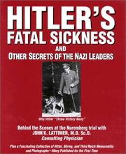 Hitlers Fatal Sickness and Other Secrets of the Nazi Leaders PDF