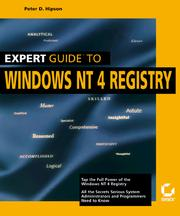Expert guide to Windows NT 4 Registry
